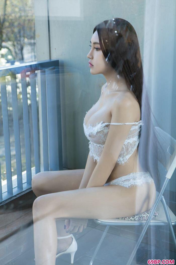 湿身叶赫那拉信悦蕾丝性感内衣诱惑风骚