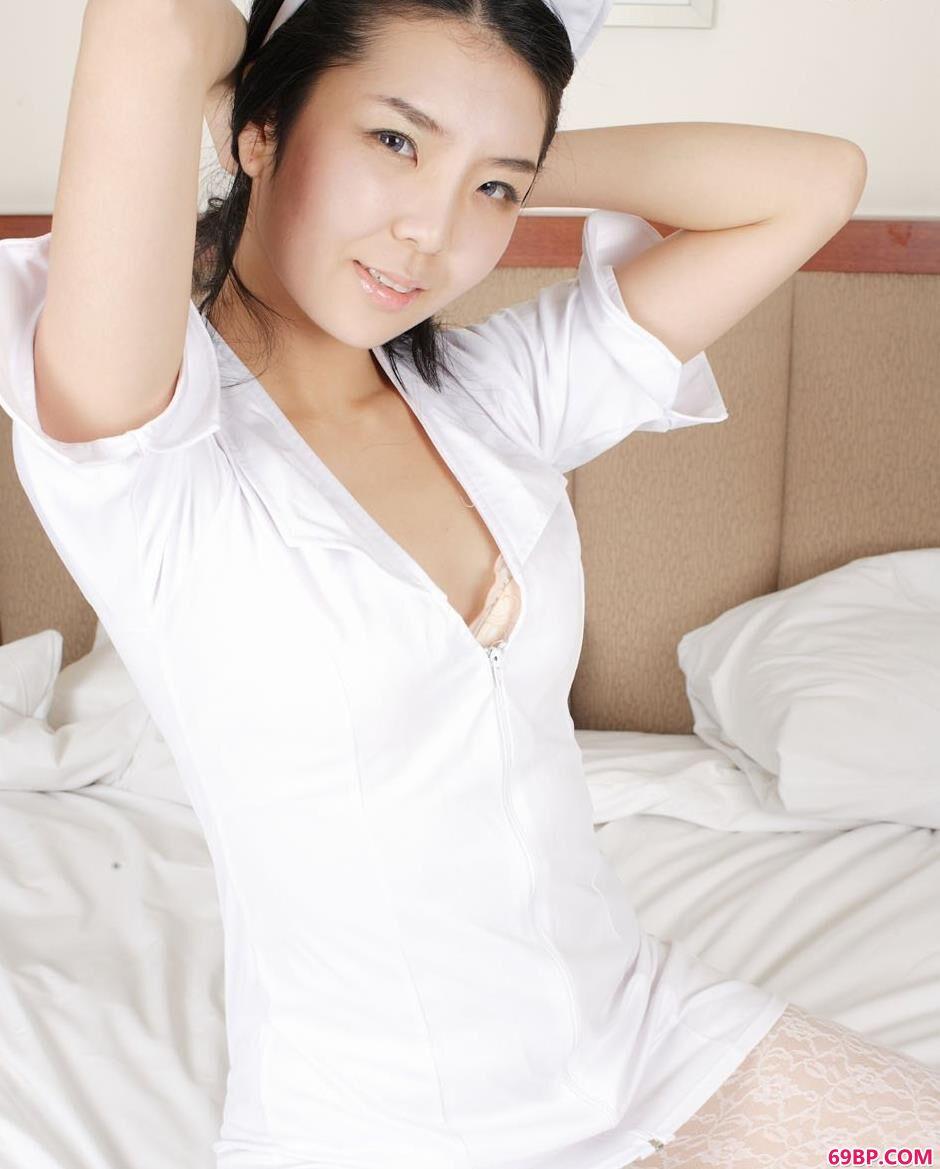 韩国人体超模护士装2_色喜国模自慰人体